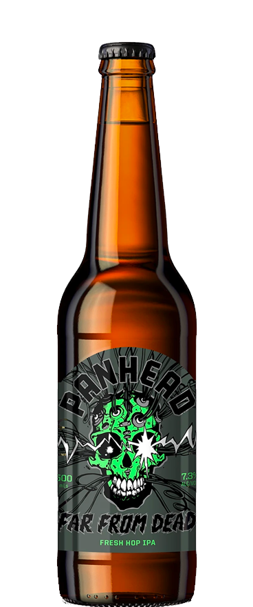 Panhead Far From Dead Fresh Hop IPA 500ml