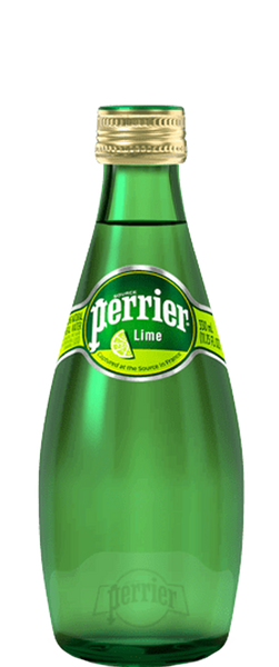 4 Bottles of Perrier Lime Sparkling Water (4x 330ml) BB:02.02.19