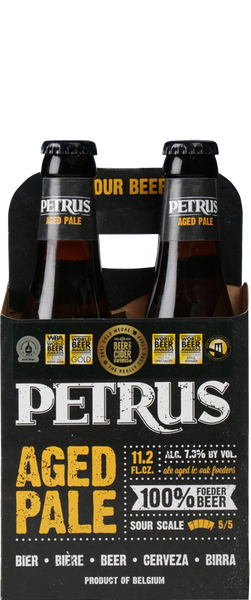 4 Bottles of Petrus Aged Pale (4x 330ml Bottles)