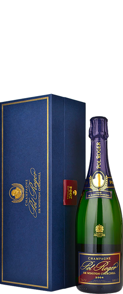 Pol Roger Cuvee Winston Churchill 2004 in Presentation Gift Box