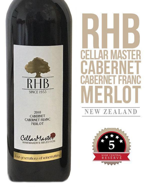 RHB Cellar Master Winemaker's Selection Cabernet Blend 2010