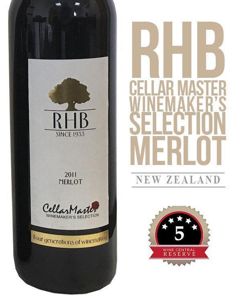 RHB Cellar Master Winemaker's Selection Merlot 2011
