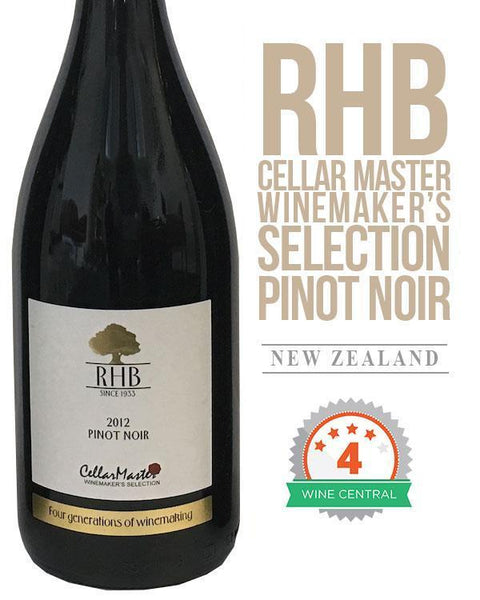 RHB Cellar Master Winemaker's Selection Pinot Noir 2012