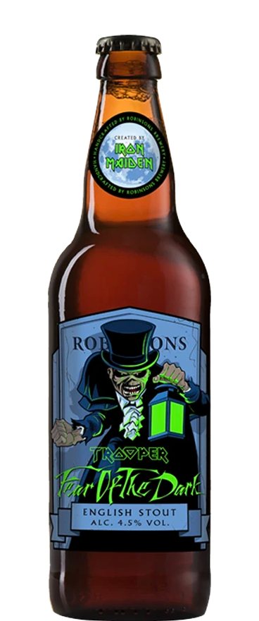 Robinsons Iron Maiden Trooper Fear of the Dark Stout 500ml Bottle - Wine Central