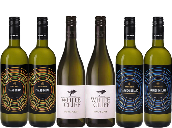 Rock Bottom White Wines 6 Bottle Case