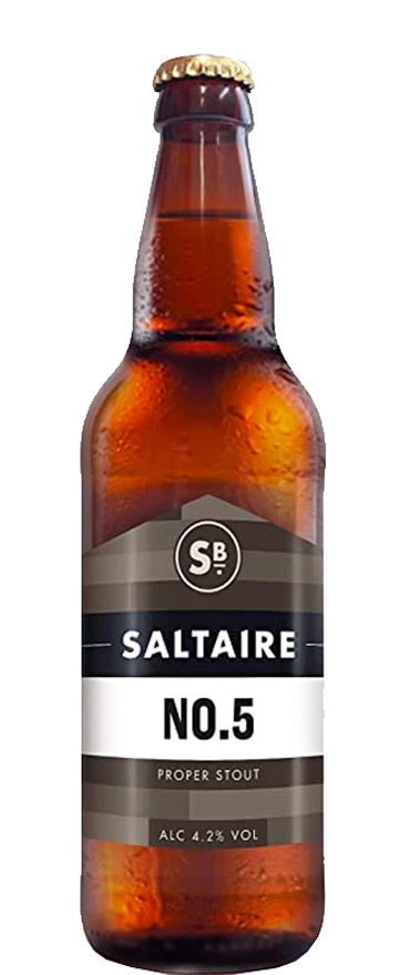 Saltaire No.5 Proper Stout 500ml