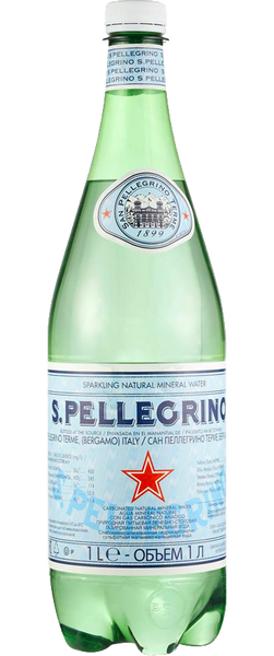 12 Bottles of Sanpellegrino Sparkling Water (12x 1L Bottles) BB:04.19