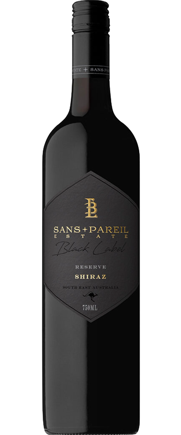 Sans Pareil Estate Black Label Reserve Shiraz 2018