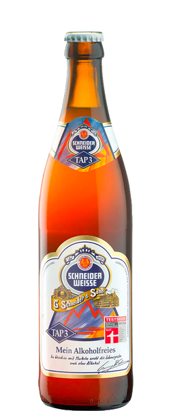 24 Bottles of Schneider Weisse Alcohol-Free (24x 330ml) BB: 26.11.18