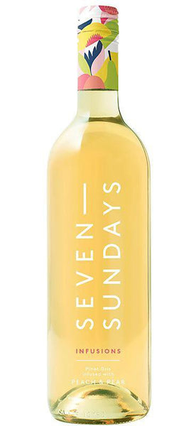 Seven Sundays 'Infusions' Pinot Gris with Peach and Pear