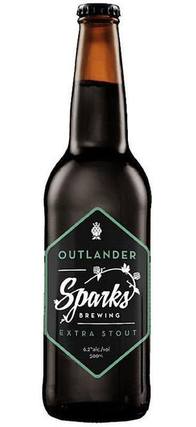 Sparks Brewing Outlander Extra Stout 330ml Bottle