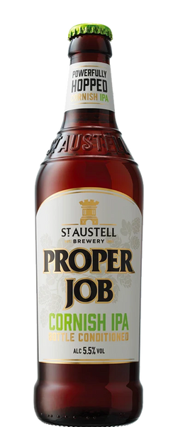12 Bottles of St Austell Proper Job (12x 500ml Bottles) BB:31.12.19