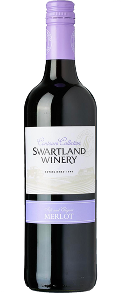 Swartland Winery Contours Collection Merlot 2015