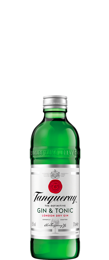 Tanqueray Gin & Tonic (4x 275ml Bottles)