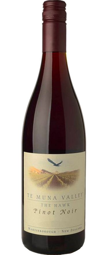 Te Muna Valley The Hawk Pinot Noir 2008 - Wine Central