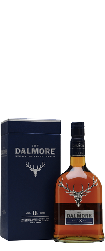 The Dalmore 18 Year Old Single Malt Whiskey 700ml