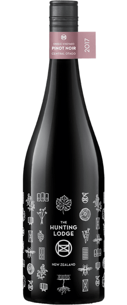 The Hunting Lodge Single Vineyard Central Otago  Pinot Noir 2017