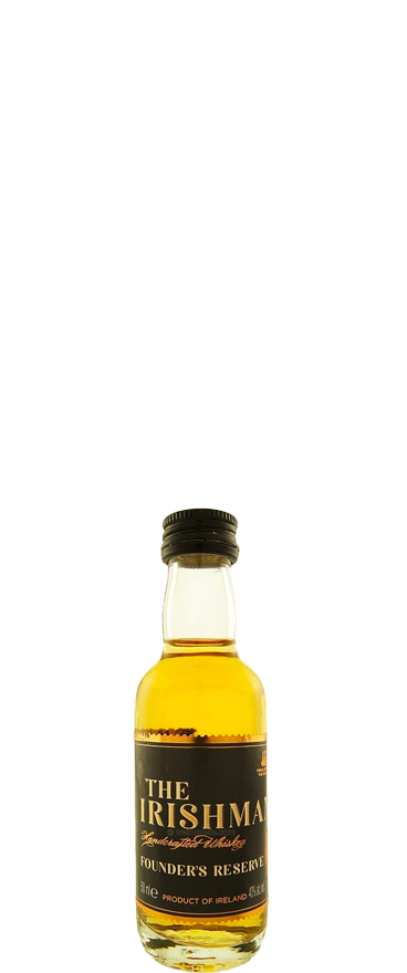The Irishman Founders Reserve Irish Whiskey 50ml Miniature