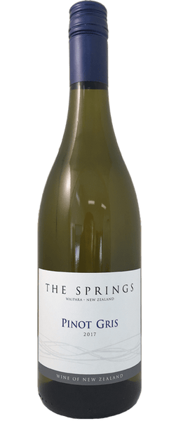 The Springs Pinot Gris 2017