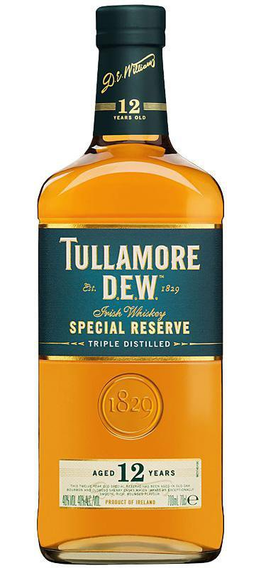 Tullamore Dew Special Reserve 12 YO Irish Whiskey , Spirits - Tullamore Dew, Wine Central