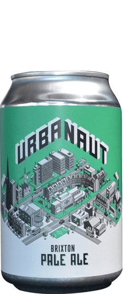 6 Cans of Urbanaut Brixton Pale Ale (6x 330ml Can)