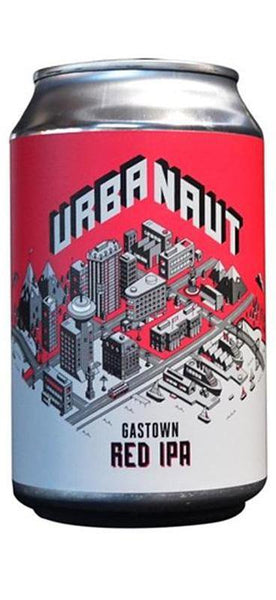 6 Cans of Urbanaut Gastown Red IPA (6x 330ml Cans)