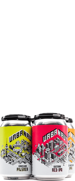 Urbanaut Mixed 4 Pack (4x 330ml Cans)