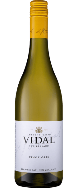 Vidal Estate Hawke's Bay Pinot Gris 2018