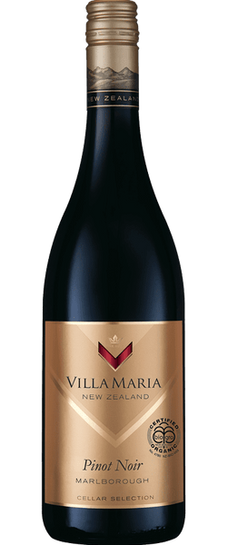 Villa Maria Cellar Selection Organic Marlborough Pinot Noir 2015