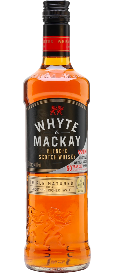 Whyte & MacKay Triple Matured Blended Scotch Whisky 1L