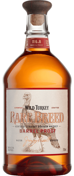 Wild Turkey Rare Breed Barrel Proof Bourbon Whiskey 700ml