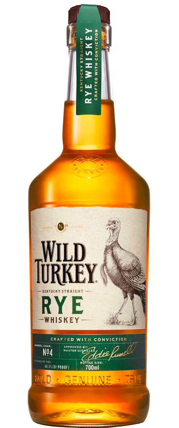 Wild Turkey Rye Bourbon 700ml - Wine Central