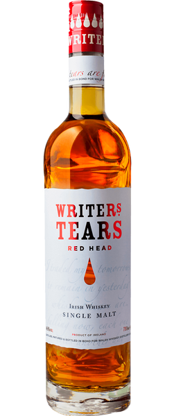 Writers' Tears Red Head Irish Whiskey Single Malt 700ml
