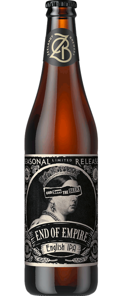 12 Bottles of Zeelandt End of Empire English IPA (12x 500ml) BB: February 2019
