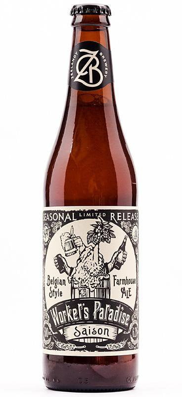 12 Bottles of Zeelandt Brewery Worker's Paradise Saison (12x 500ml) BB: 31.07.18