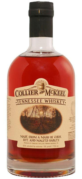 Collier and McKeel Tennessee Whiskey (750ml) , Spirits - Collier and McKeel, Wine Central