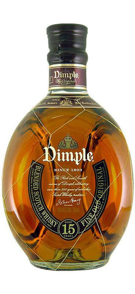 Dimple 15YO Whiskey (700ml) , Spirit - Dimple, Wine Central