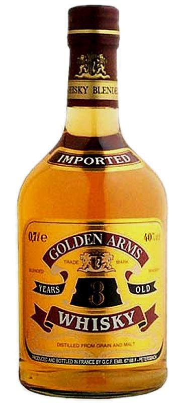 Golden Arms 3 Year Old Blended Whisky (700ml) , Spirits - Golden Arms, Wine Central