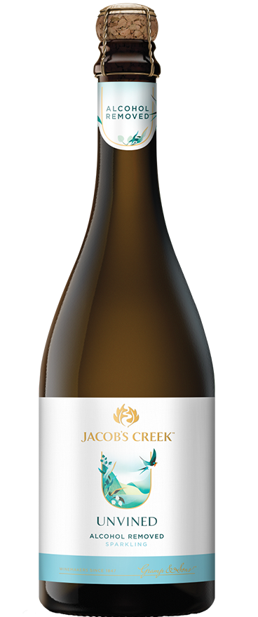 Jacob's Creek Unvined 0% Alcohol Sparkling NV - Wine Central