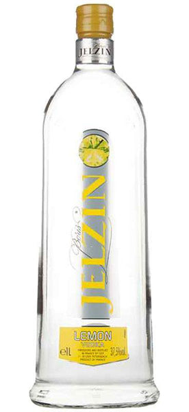 Jelzin Lemon Vodka (1000ml) , Spirits - Jelzin, Wine Central - 2