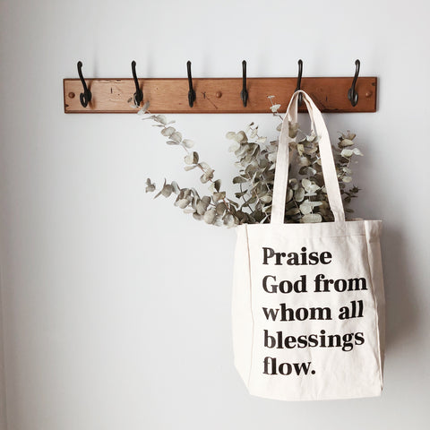 Doxology Tote Bag