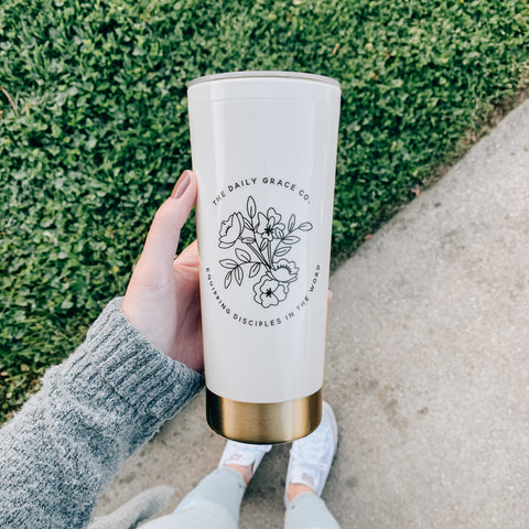 Daily Grace Travel Tumbler
