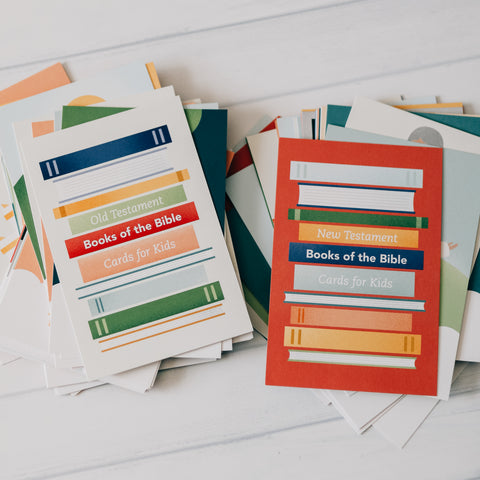 Books of the Bible Cards Bundle - Kids