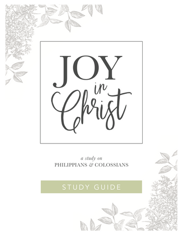 Joy in Christ - Guide