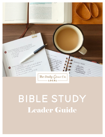 Bible Study Leaders Guide