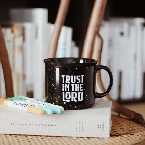 Trust The Lord - Campfire Mug