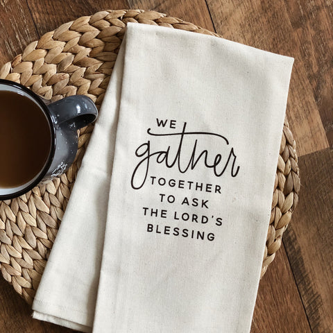Gather Tea Towel