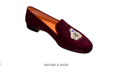 Limited Time Offer! Custom Yorkie / Maltese / Shih Tzu / Pocket Dog Embroidered Velvet Slipper