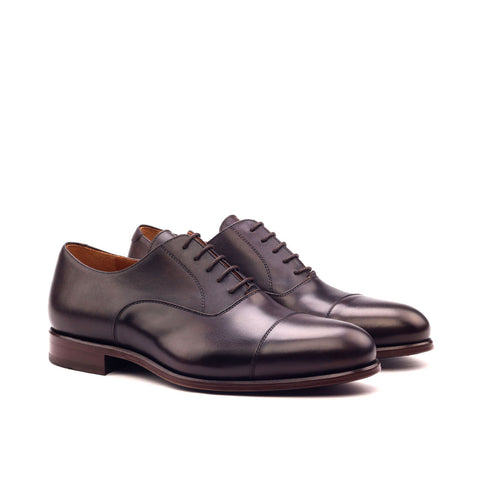 Dark Brown Leather Oxford