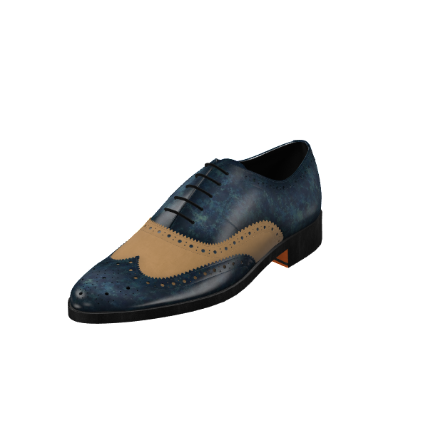 Custom Patina Full Brogue